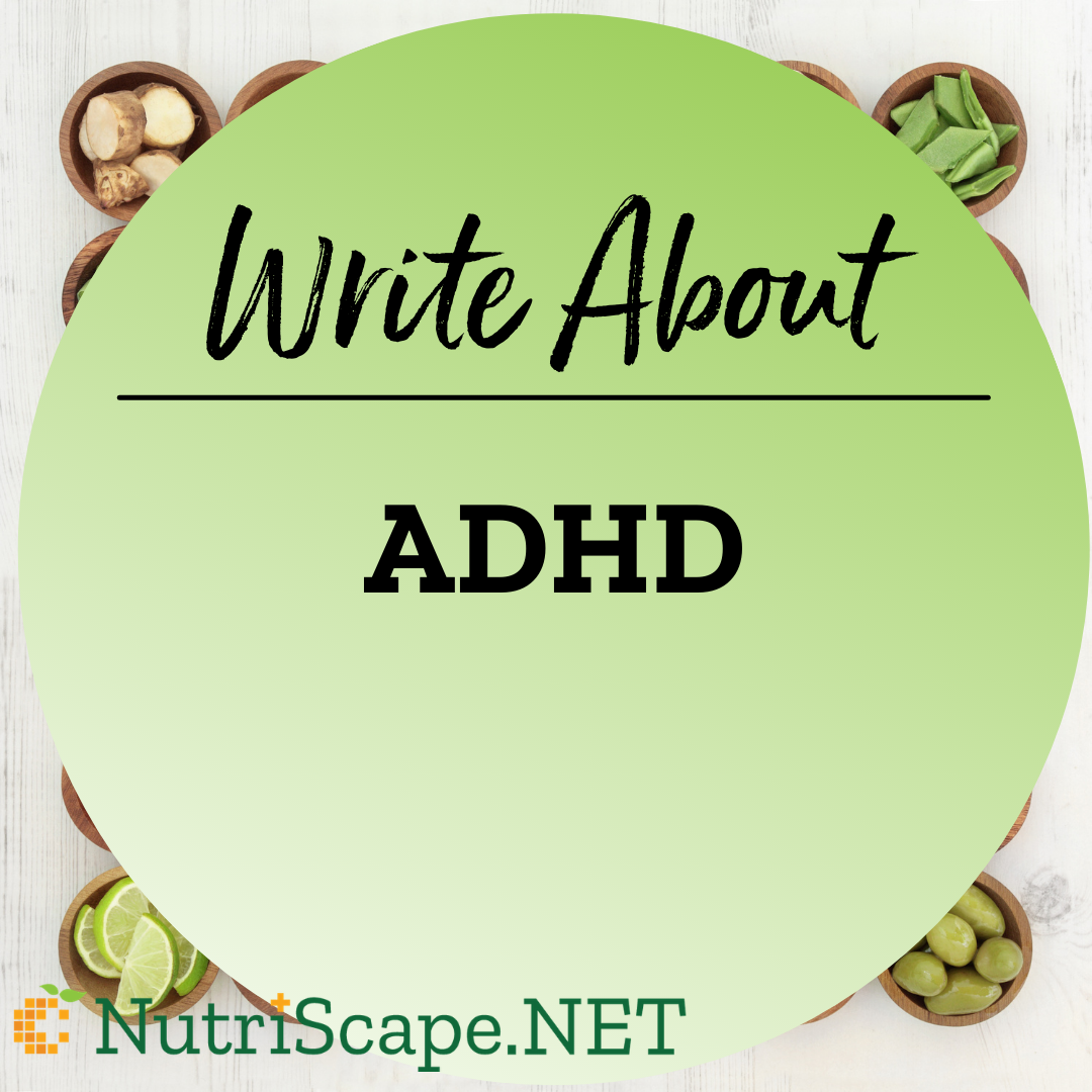 write about adhd
