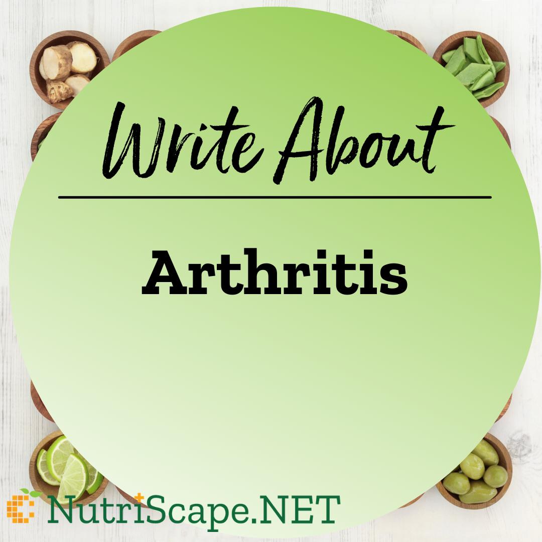 write about arthritis