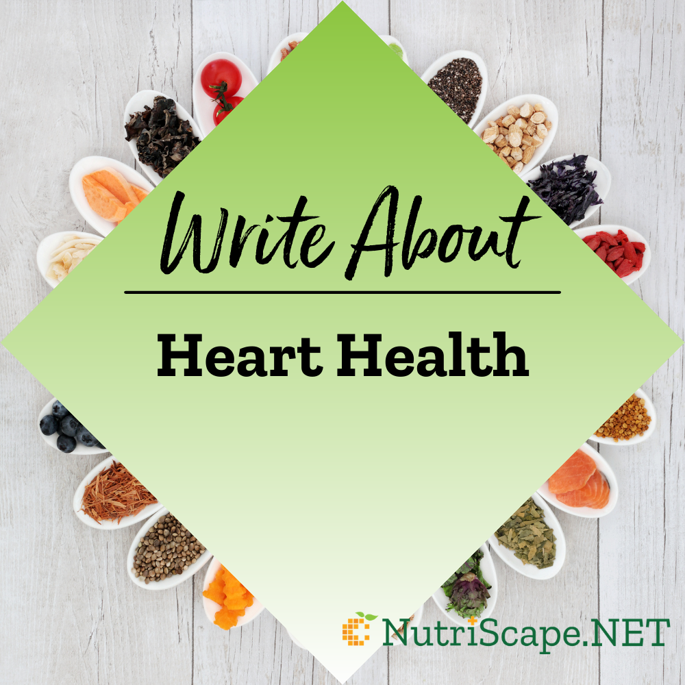 write about heart health