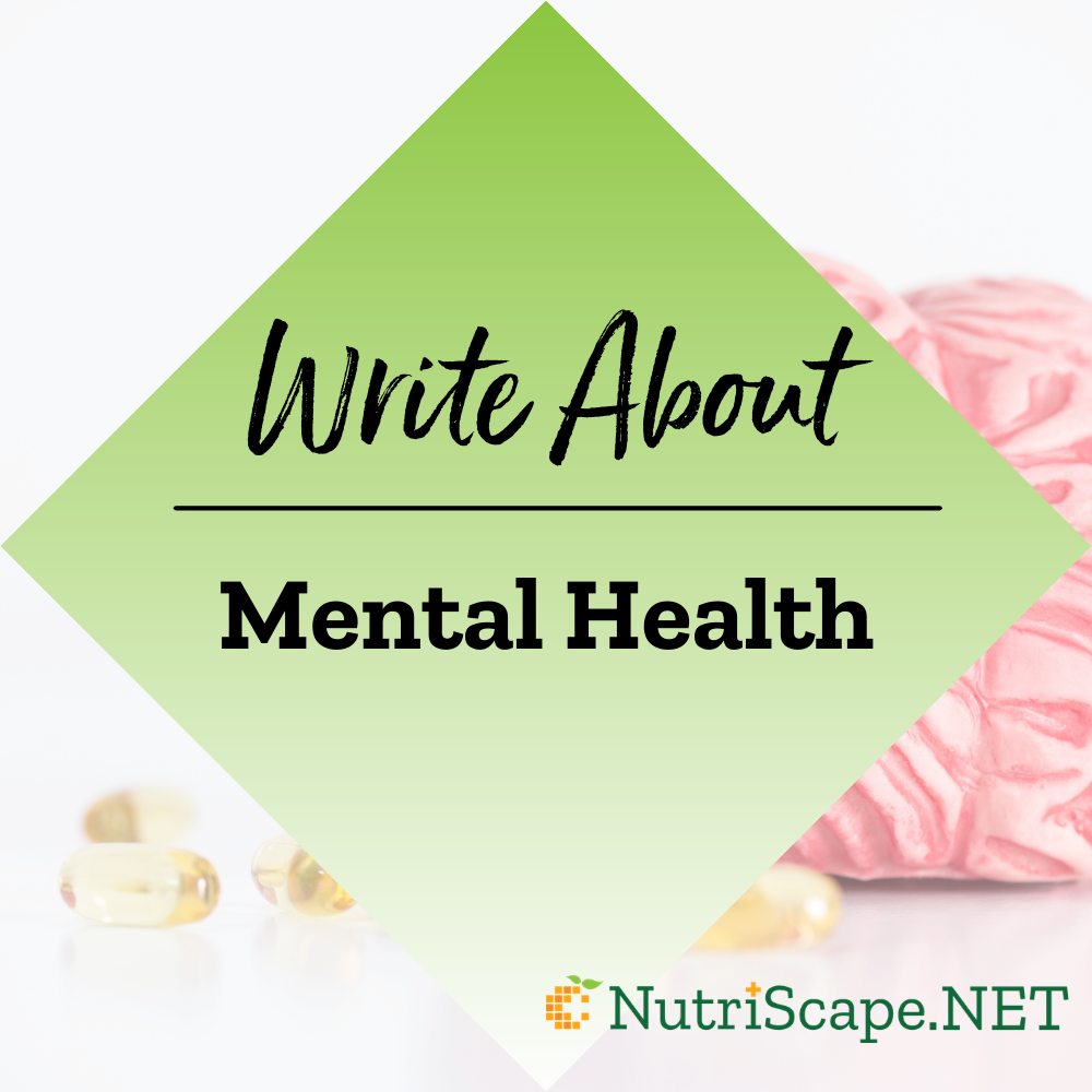 write about mental health