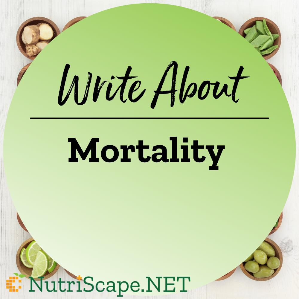 write about mortality