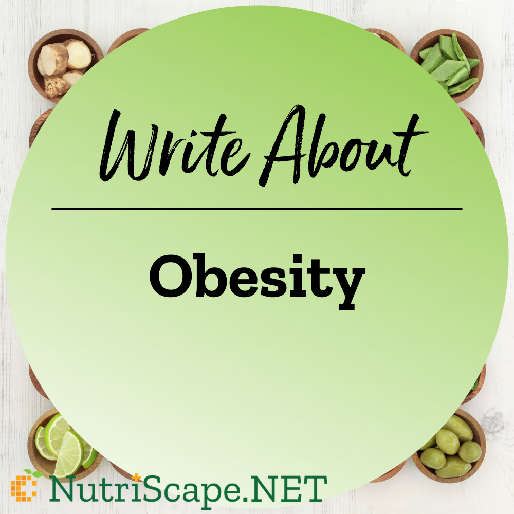 write about obesity