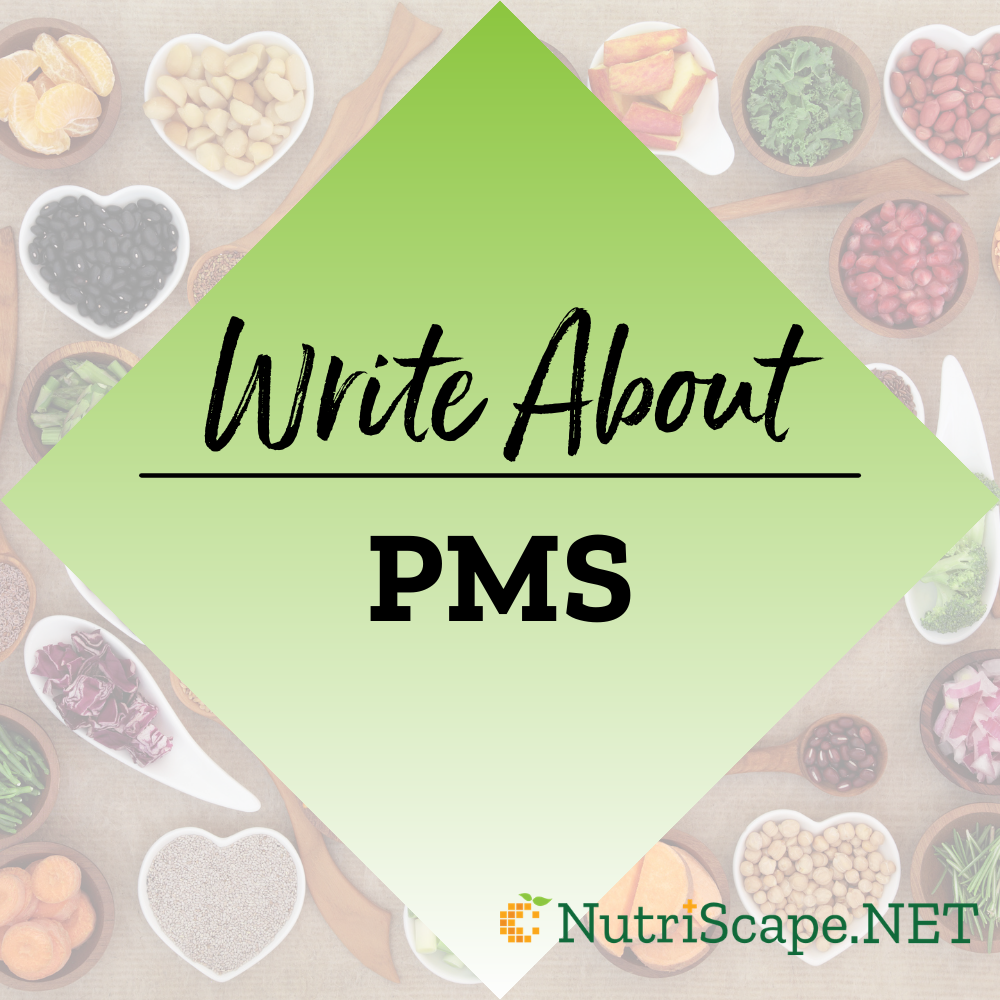 write about PMS