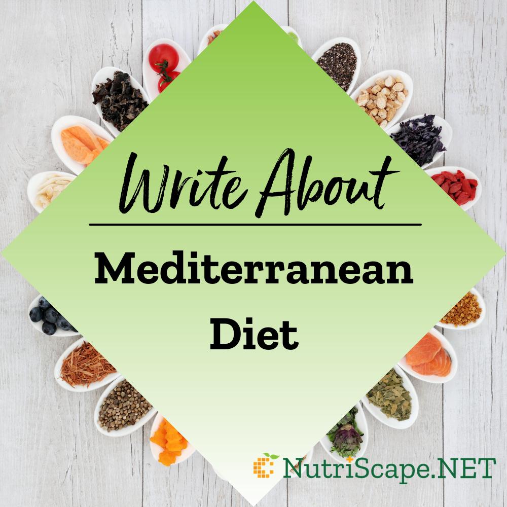 write about mediterranean diet