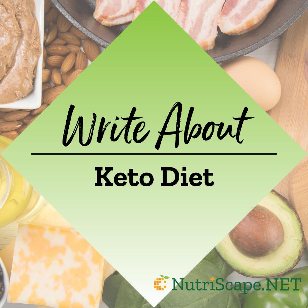 write about keto diet