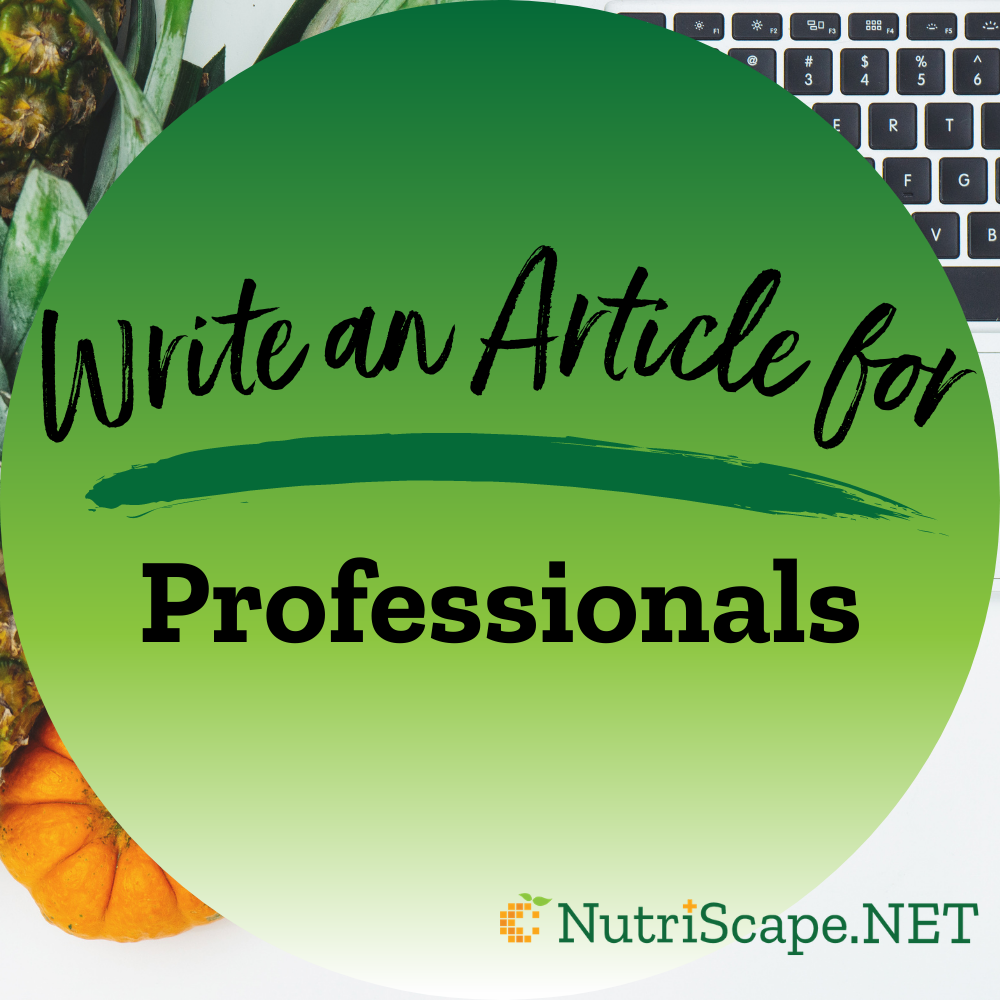 write an article for professionals